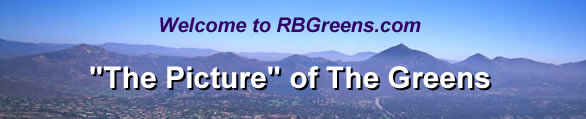 Welcome to RBGreens.com, The Picture of The Greens
